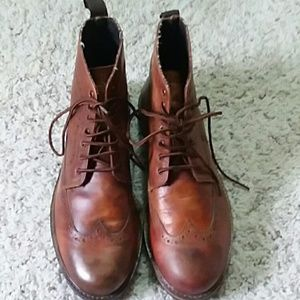 Ben Sherman Crawford Leather Boots. Size 9.5M.